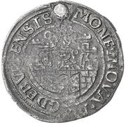 ½ Gulden (Siege issue) – avers