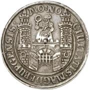 2 Thaler (Dicker doppelter Reichstaler) – avers