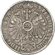 2 Thaler (Dicker doppelter Reichstaler) – revers