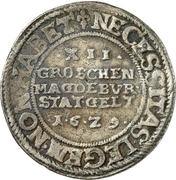 12 Groschen (Emergency currency) – revers