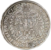 2 Thaler (100 years of reformation) – avers