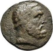 Bronze AE24(Magnesia ad Sipylum) – avers