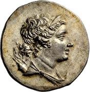 Tetradrachm - Pausanias son of Pausanios -  avers