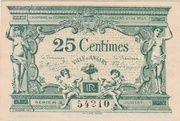 25 centimes - Chambre de Commerce d'Angers et de Maine-et-Loire [49] – avers