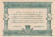 25 centimes - Chambre de Commerce d'Angers et de Maine-et-Loire [49] – revers