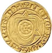 1 Goldgulden - Konrad III. von Dhaun – revers