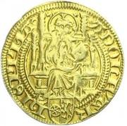 1 goldgulden Adolph II. von Nassau – avers