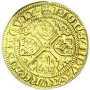 1 goldgulden Adolph II. von Nassau – revers