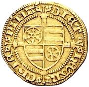 1 Goldgulden - Dietrich II. von Isenburg (Mainz) – avers