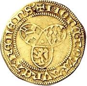 1 Goldgulden - Dietrich II. von Isenburg (Mainz) – revers