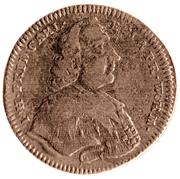 3 Pfennig - Johann Friedrich Karl – avers