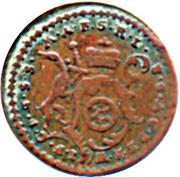 1 Pfennig - Johann Friedrich Karl – avers