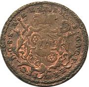 2 pfennig Johann Friedrich Karl – avers