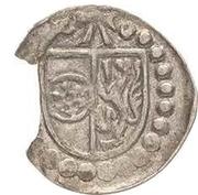 1 Pfennig - Albrecht von Brandenburg (Schüsselpfennig) – avers