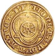 1 Goldgulden - Dietrich I. Schenk zu Erbach – revers