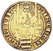 1 Goldgulden - Dietrich II. von Isenburg – avers