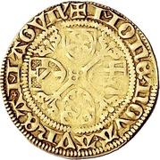1 Goldgulden - Dietrich II. von Isenburg – revers