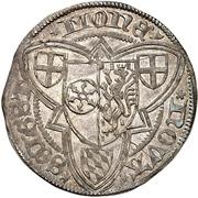 1 Weißpfennig - Adolph II. von Nassau – revers