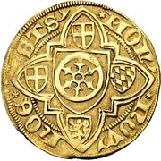 1 Goldgulden - Johann II. von Nassau – revers