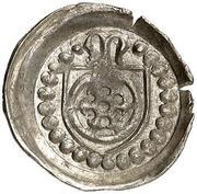 1 Pfennig -  Konrad III. von Dhaun – avers
