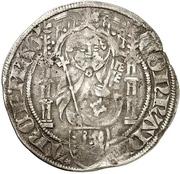 1 Weißpfennig - Konrad III. von Dhaun – avers