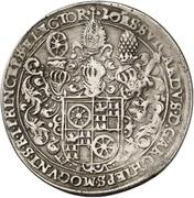¼ Thaler - Johann Schweickhardt von Kronberg (Aschaffenburg castle) – avers