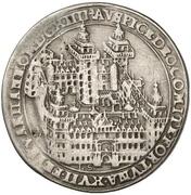¼ Thaler - Johann Schweickhardt von Kronberg (Aschaffenburg castle) – revers