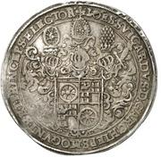 ½ Thaler - Johann Schweickhardt von Kronberg (Aschaffenburg castle) – avers