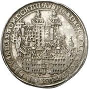 ½ Thaler - Johann Schweickhardt von Kronberg (Aschaffenburg castle) – revers