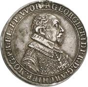 1 Thaler - Georg Friedrich von Greiffenklau zu Vollraths – avers