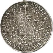 1 Thaler - Georg Friedrich von Greiffenklau zu Vollraths – revers