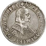 1 Thaler - Anselm Kasimir Wamboldt von Umstadt – avers