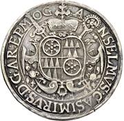 ½ Thaler - Anselm Casimir Wamboldt von Umstadt – avers