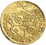 1 Ducat - Johann Philipp von Schönborn – revers