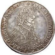 1 Thaler - Johann Philipp von Schönborn – avers