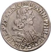 30 Kreuzer - Johann Philipp von Schönborn – avers
