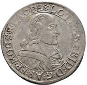 30 Kreuzer - Lothar Friedrich von Metternich-Burscheid (1/2 Sortengulden) – avers