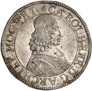 60 Kreuzer - Karl Heinrich von Metternich-Winneburg (Sortengulden) – avers