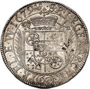 60 Kreuzer - Karl Heinrich von Metternich-Winneburg (Sortengulden) – revers