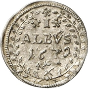 1 Albus - Anselm Franz, Freiherr von Ingelheim – revers