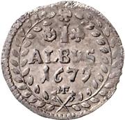 1 Albus - Karl Heinrich von Metternich – revers