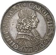 1 Thaler - Karl Heinrich von Metternich – avers