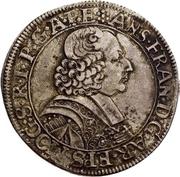 60 Kreuzer - Anselm Franz, Freiherr von Ingelheim (Sortengulden) – avers