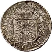 60 Kreuzer - Anselm Franz, Freiherr von Ingelheim (Sortengulden) – revers