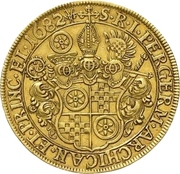 10 Ducat - Anselm Franz von Ingelheim – revers