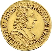 1 Ducat - Anselm Franz von Ingelheim – avers