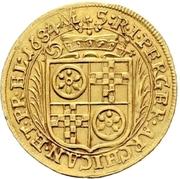 1 Ducat - Anselm Franz von Ingelheim – revers