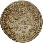 1/12 Thaler - Anselm Franz von Ingelheim – revers