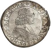 15 Kreuzer - Anselm Franz von Ingelheim – avers