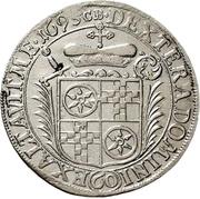 60 Kreuzer - Anselm Franz von Ingelheim (Sortengulden) – revers